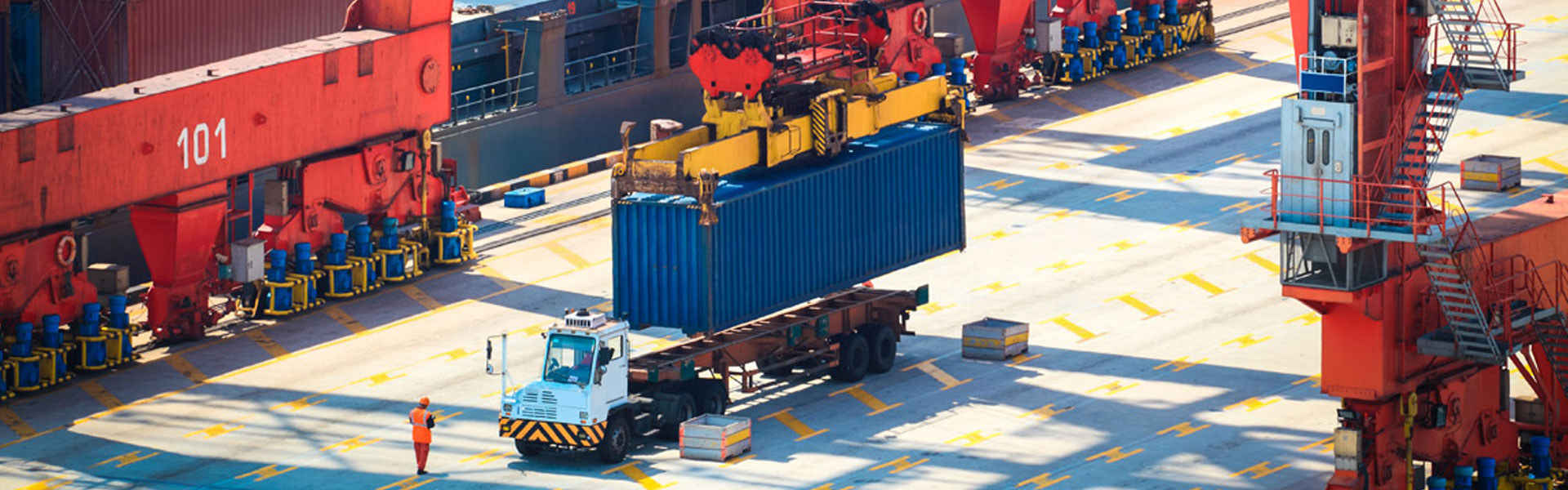 <strong>Solutions in </strong><br />Port Handling Equipment